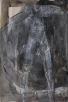 Tusche,Graphit, Acryl  64x45cm 2009